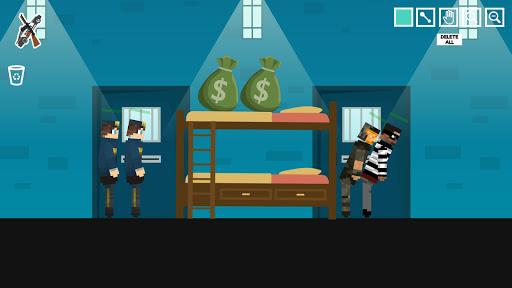Policeman Jail Playground: Ragdoll Thief  screenshots 5
