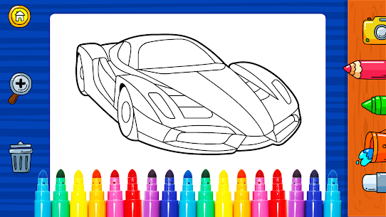 Free Learn Coloring amp  Drawing Car Games for Kids NEW 2021 **** 3