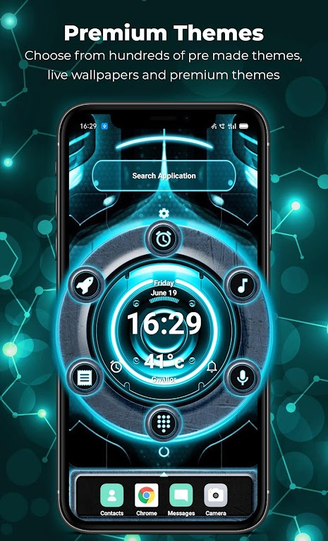 Alpha Launcher Prime💎 Wallpaper,DIY,Themes,Fast  poster 6