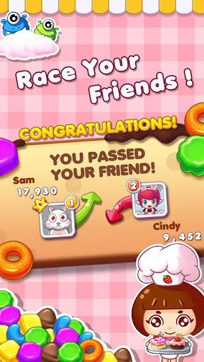 Cookie Mania - Match-3 Sweet Game modavailable screenshots 4