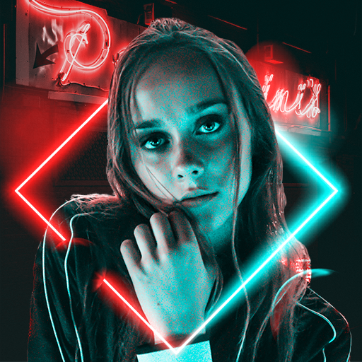 Baixar NeonArt Photo Editor: Photo Effects, Collage Maker para Android