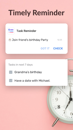 To-Do List - Schedule Planner & To Do Reminders android2mod screenshots 3