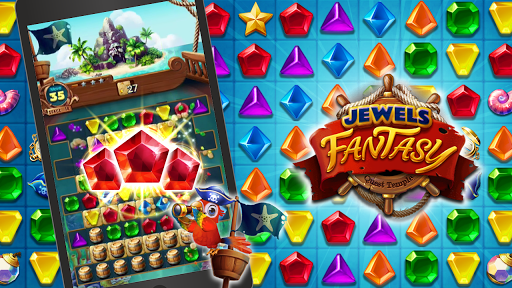 Jewels Fantasy : Quest Temple Match 3 Puzzle 1.9.0 screenshots 1