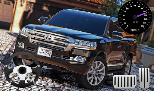 City SUV Toyota Land Cruiser 200 Parking 11.1 screenshots 3
