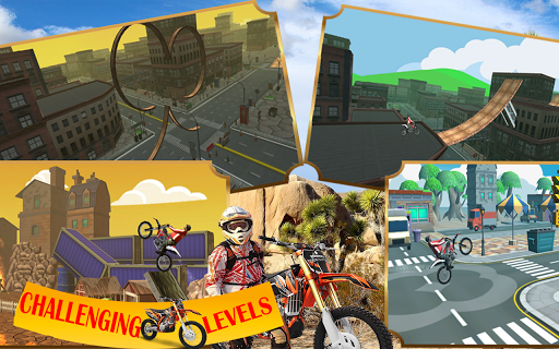Motorcycle racing Stunt : Bike Stunt free game 2.1 screenshots 4