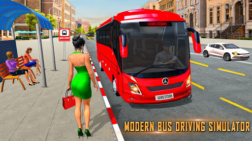 Modern Bus Simulator: Ultimate Bus Driving Games Varies with device screenshots 15