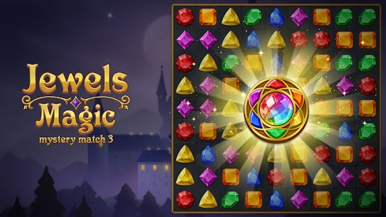 Jewels Magic Mod Apk: Mystery Match3 (Automatically Clear Stage) 2