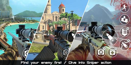Death Dealers: 3D online sniper game  screenshots 4