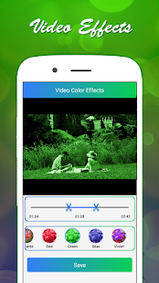 Color Video Effects, Add Music, Video Effects Screenshot