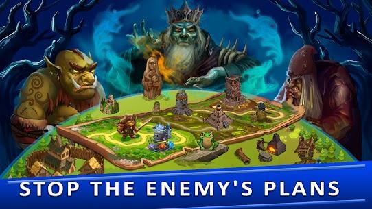 Tower Defense Games – GOLDEN LEGEND MOD APK 3.1 (Unlimited Diamonds) 12