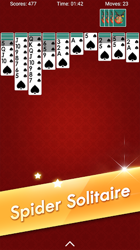 Spider Solitaire - Classic Card Games 4.7.0.20210611 screenshots 1