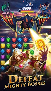 War and Wit: Heroes Match 3 APK MOD HACK (Always Skill) 4