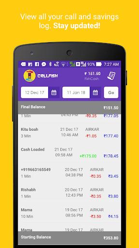 Cell.Fish - Safe SMS, Slick Dialer, Save Money Wiz apktram screenshots 6
