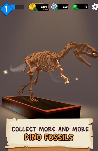 Dino Quest 2: Jurassic bones in 3D Dinosaur World apkpoly screenshots 18
