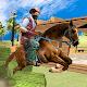 Wild Cowboy West Warrior Games- horse riding games