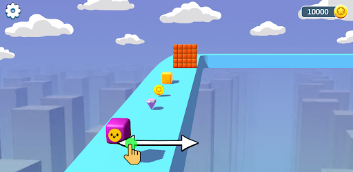 Cube Battle - Surfer Unstoppable modiapk screenshots 1