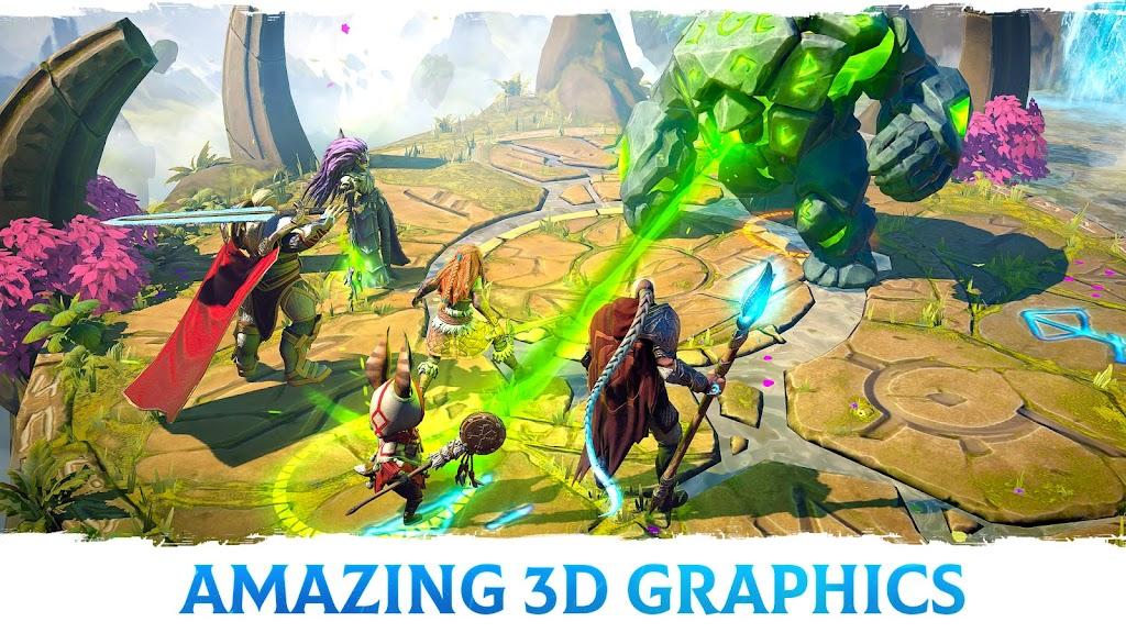 Age of Magic: Turn-Based Magic RPG & Strategy Game  poster 3
