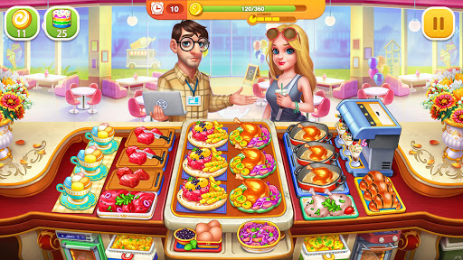 Cooking Hot: My Restaurant Cooking Game Apkfinish screenshots 17