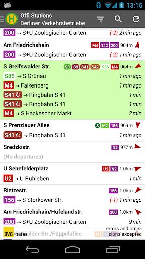 Offi - Journey Planner  screenshots 1