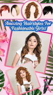 Hairstyle Camera Beauty : Hair Changer Photo Edit 1.2 Screenshots 2