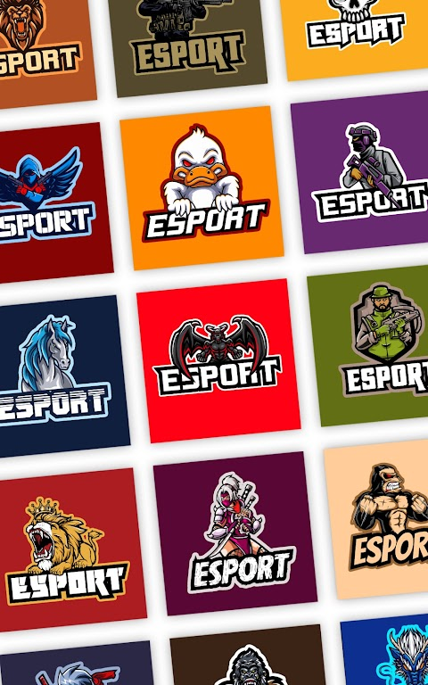 Esport Logo Maker - Create Free Gaming Logo Mascot  poster 5