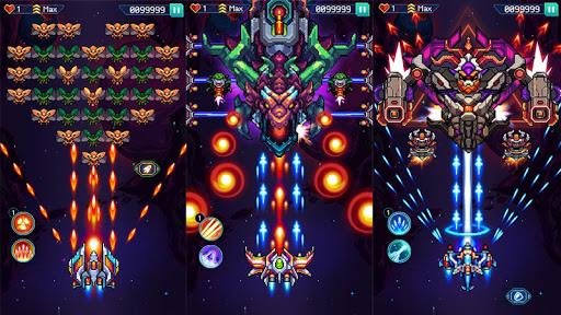 Galaxiga: Galaga Arcade Shooter 80s - Free Games 20.2 screenshots 7