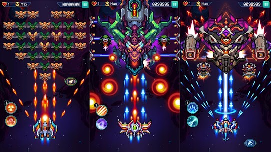 Galaxiga: Classic Arcade Shooter 80s – Free Games 7