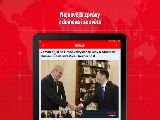 Blesk: zpru00e1vy, celebrity, sport 2.6.10 screenshots 9