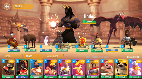 Trojan War 2: Clash Cards Game Mod Apk 1.1.1 (A Lot of Currency) 7