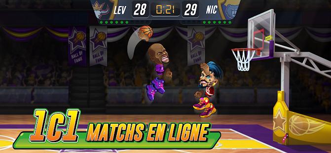Basketball Arena: Jeu de Sport en Ligne screenshots apk mod 1