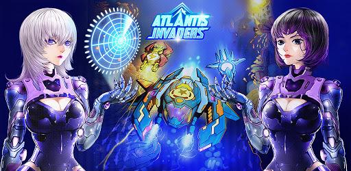 Screenshot of Atlantis Invaders: Submarine Space Shooter Offline