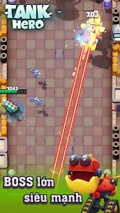 Xe tăng – Cuộc chiến bắt đầu Ver 1.7.6 MOD APK   God Mode – Tank Hero – Fun and addicting game 4