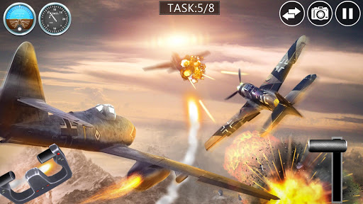 Télécharger Combat aérien 3D réel APK MOD (Astuce) screenshots 1