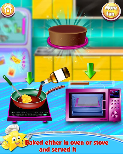 Cooking Recipes - in The Kids Kitchen  screenshots 5
