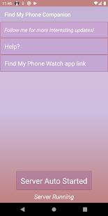 Find My Phone Companion