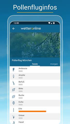 RegenRadar - mit Unwetterwarnung apktram screenshots 5