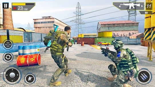 Commando Secret Mission Mod Apk (God Mode) 2