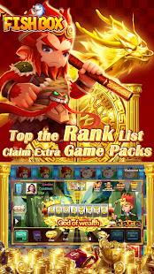 Fish Box - Casino Slots Poker & Fishing Games screenshots 7