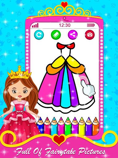 Baby Princess Phone - Princess Baby Phone Games 1.0.3 Screenshots 2