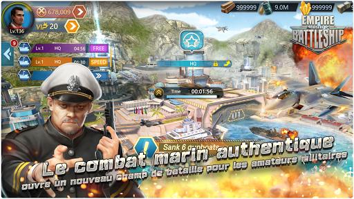 Télécharger Gratuit Empire: La Croissance de Cuirassé  APK MOD (Astuce) screenshots 1