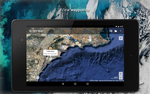 GPX Viewer - Tracks, Routes & Waypoints 1.37.1 Screenshots 4