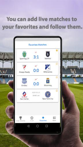 Live Football Scores 2020  screenshots 3