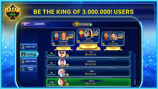 Batak Club - Online & Offline Spades Game 7.1.28 screenshots 19