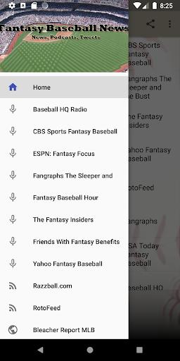 fantasy baseball news screenshot 1