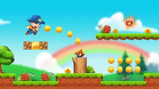 Super Bino Go 2: Free New Jump Adventure Game 1.7.2 screenshots 1