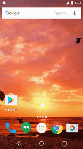 Sunset Live Wallpaper screenshots 2