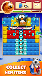 Toon Blast Mod Apk (Unlimited Moves + Unlimited Boosters) 4