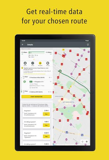 BVG Fahrinfo: Bus, Train, Subway & City Map Berlin 6.8.3 (108) Screenshots 11