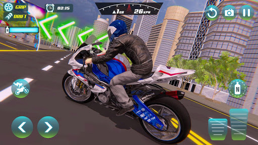 City Bike Driving Simulator-Real Motorcycle Driver screenshots 13