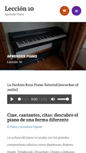 Aprender Piano Screenshot
